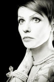 glamourkvinna royaltyfria foton
