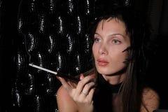 glamourkvinna Fotografering för Bildbyråer