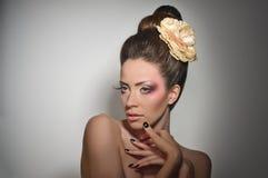 Glamourlady Arkivfoto