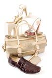 glamourlivstid shoes fortfarande Royaltyfri Foto