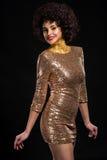 Glamourous дама Стоковые Фотографии RF