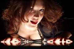 glamourous женщина Стоковое Фото
