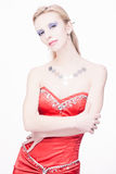 Glamourous blond Royalty Free Stock Images