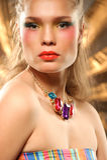 Glamourous fashion portrait Stock Photography