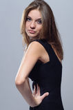 Glamourous flicka Arkivbilder