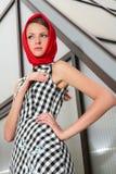 Glamourous girl Stock Photography
