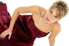 glamourous kvinna Arkivfoto