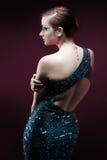 glamourous kvinna Arkivbilder