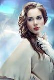 Glamourous młoda kobieta Zdjęcia Royalty Free