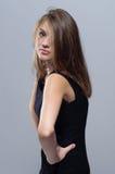 Glamourous modell Royaltyfria Bilder