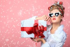Glamourous present Stock Photography