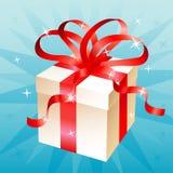 Glamourous present box v2 Stock Image