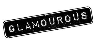 Glamourous rubber stamp Royalty Free Stock Images
