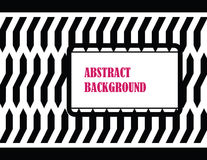 Glamur abstract background. With black and white zebra skin stock illustration