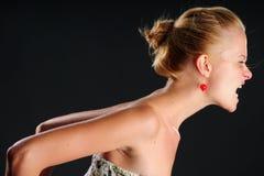 Glamur emocional Imagem de Stock Royalty Free