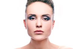 Glance Royalty Free Stock Photography