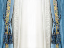 Gland de rideau en élégance Image stock