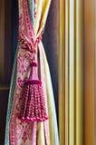Gland de rideau pour la décoration intérieure photo libre de droits