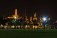 The gland palace. Gland palace in night shot Royalty Free Stock Image