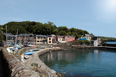 Glandore village Royalty Free Stock Image