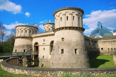 3 Glands Castle,Luxembourg. Beautiful castle in Luxembourg Stock Photo
