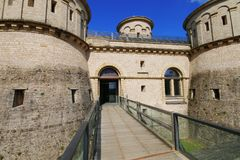 3 Glands Castle,Luxembourg. Beautiful castle in Luxembourg Royalty Free Stock Images