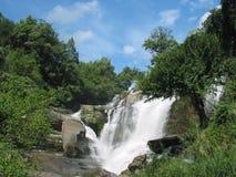 glang mae泰国瀑布 免版税库存照片
