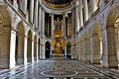 Glans av den Versailles slotten Royaltyfria Foton