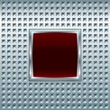Glansig fyrkantig skärm Arkivbild