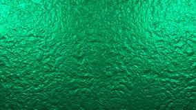 Glansig grön vägg Grafisk illustration framförande 3d Bakgrund textur Arkivbild