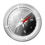 glansig kompass Fotografering för Bildbyråer