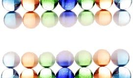 glansiga bollar Fotografering för Bildbyråer