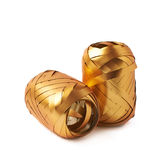 Glansiga isolerade bandrullar Royaltyfri Foto