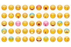 Glansowana Emoticon kolekcja Zdjęcie Royalty Free