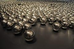 Glansowana metal piłka Fotografia Royalty Free