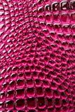 glansowana różowa tkanina Zdjęcie Royalty Free