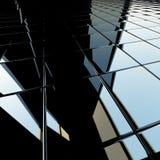 glansowany architektoniczny tło Zdjęcia Stock