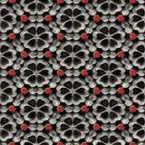 glansowany kwiatu wzór Zdjęcie Stock