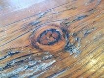 Glansowany nawoskujący brązu, czerni stół z i obraz stock
