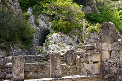 Glanum Stock Image