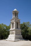Glanum - la San-Remy-de-Provenza: Cenotaph Fotografia Stock