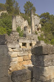 Glanum near of Saint-Rémy-de-Provence. France. Royalty Free Stock Photography