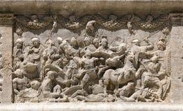 Glanum, Santo-Remy-de-Provence: El arco triunfal Imagen de archivo libre de regalías