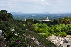 Glanum and St. Rémy de Provence Royalty Free Stock Images