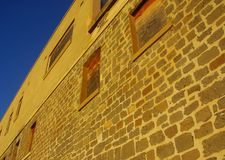 Glanville Stonework Wall Stock Photo