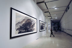 Glanz der Uncarved Jade Ausstellung in Moskau Stockbilder