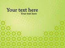 Glanzend groen collectief presentatiemalplaatje royalty-vrije illustratie