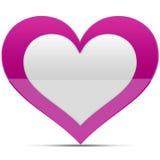 Glanzend hart Royalty-vrije Stock Fotografie