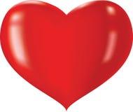 Glanzend hart Stock Afbeeldingen