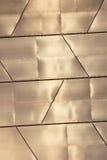 Glanzend metaal royalty-vrije stock afbeelding